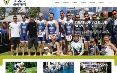 Nove spletne strani Triatlonskega kluba Novo mesto